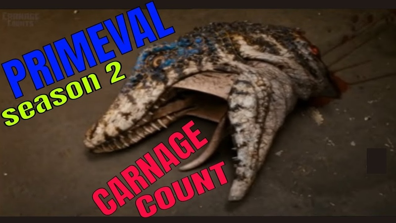 Primeval Season Two (2008) Carnage Count