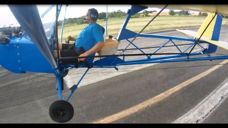 Learning taildragger in my new Affordaplane