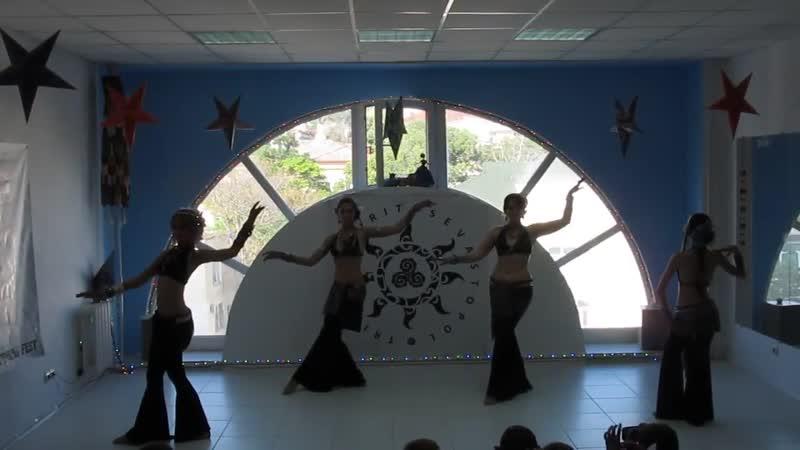 Трайбл (современные восточные танцы) коллектив Лира от Орион @ Севастопольский трайбл-фест 06 07 2014