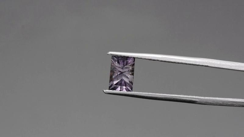Striking Silver Lavender Brazilian Tourmaline Gemstone from KGC