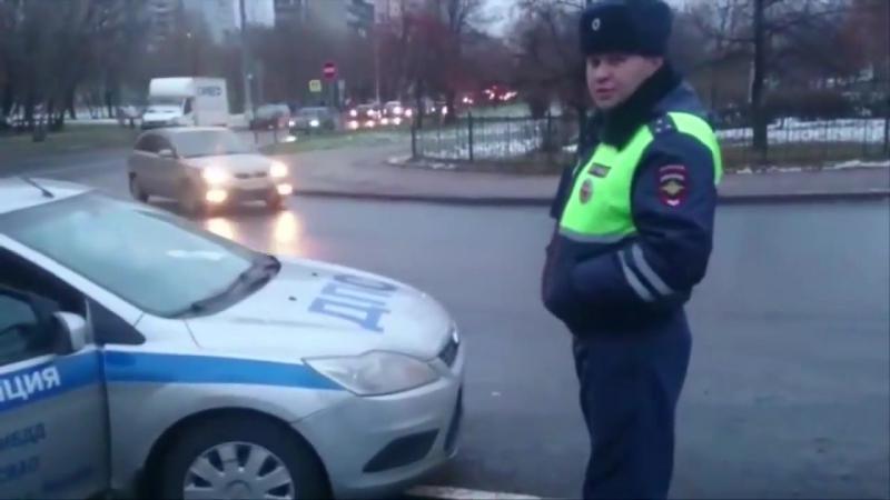 ДПСники придушили пешехода - ЗВ