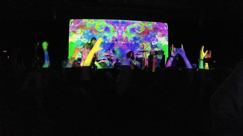 Earthless @ Агломерат Moscow, 27-04-2019