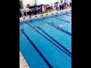 50 метров брасс 3 место