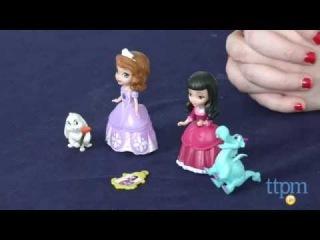 Принцесса София и Вивиан с их питомцами-друзьями от Mattel
