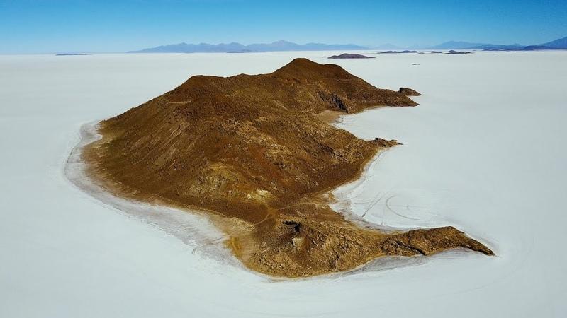 Мир Приключений - Экстремальный отдых в Боливии. Солончак Уюни съемка дроном. Salar de Uyuni Bolivia