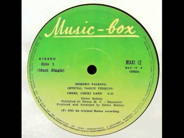 Modern Talking – Cheri Cheri Lady (12'' Special Dance Version)
