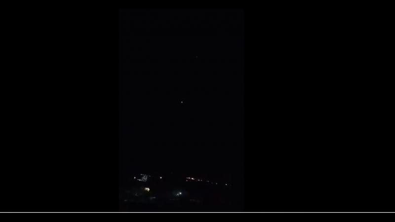 ФАН публикует видео отражения израильской ракетной атаки сирийскими ПВО в Дамаске