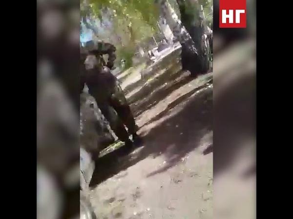 Вандалы воруют оградки на городском кладбище