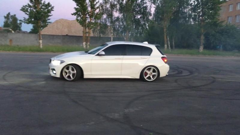 BMW F20 drift