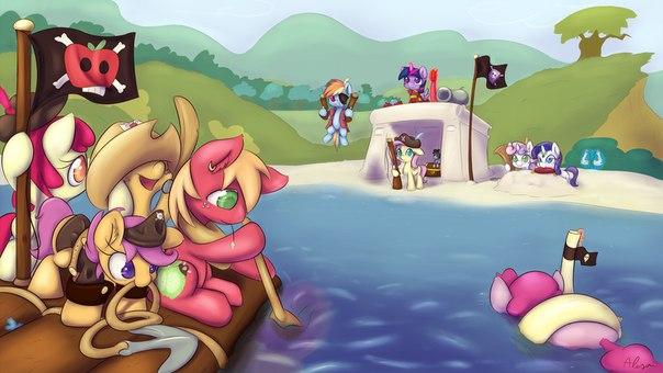 Игра украсьте волшебный мир маленьких пони +лотерея и арты!