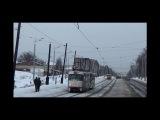 Ижевский трамвай. Авария 15.02.2014