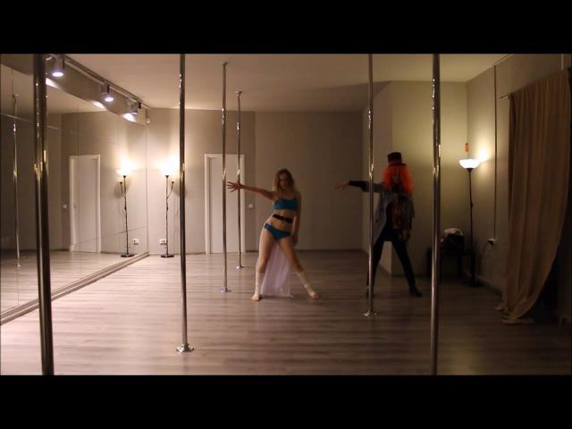 Alice in Wonderland/Music: Billy Talent - Fallen leaves\Pole dance/Алиса в Стране чудес