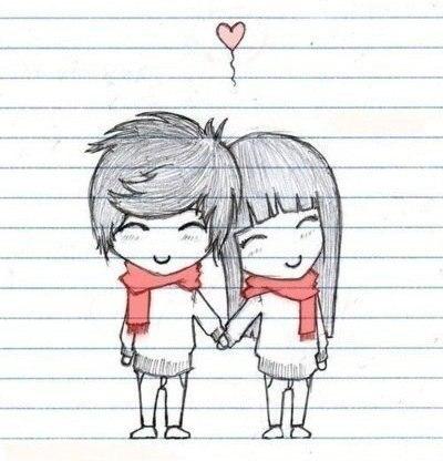 Рисунки с любовью для девочек