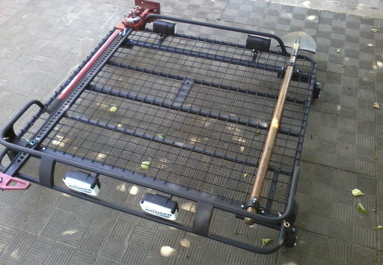 Экспедиционный багажник на Ниву: конструкция 89