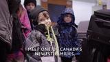 Air Canada Reunites Families Meet one of Canada's newest families
