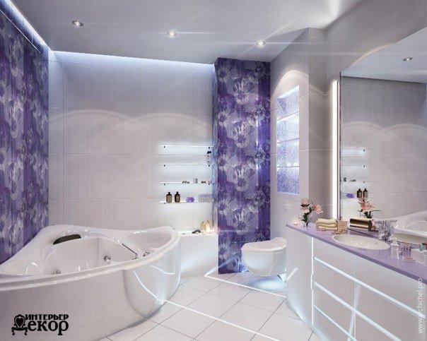 Очень красивая ванная (1 фото) - картинка