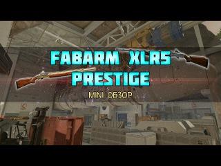 Варфейс Mini Обзор Fabarm XLR5 Prestige