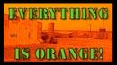 Everything Is Orange Iraq sandstorm