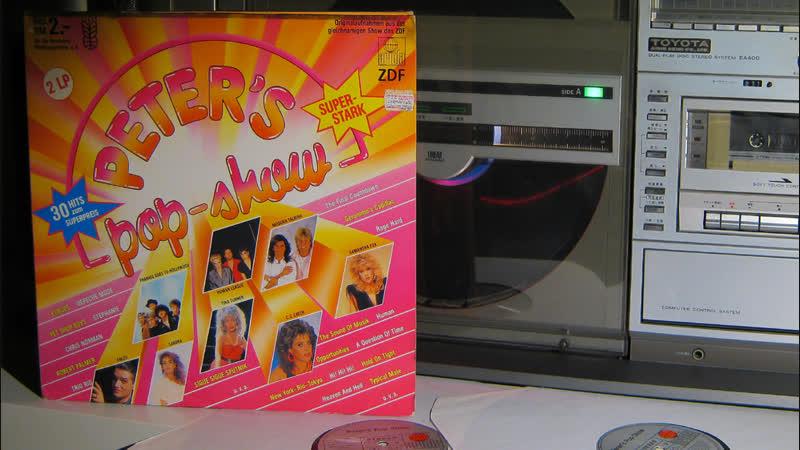 Vinyl 2LP - Peter's Pop-Show 1986' - однажды тридцать три года спустя / SHARP - Toyota EA400 - VZ-3000 (VZ-V3) 1981'