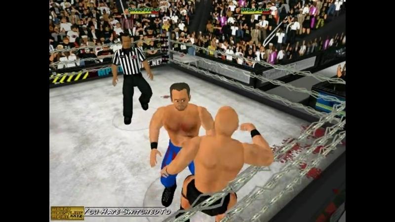 Chris Benoit vs Stone Cold