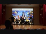 начало концерта // выступление танц. школы