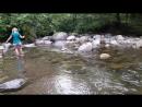 Вот такая чистейшая вода у нас в горной реке Мачахлисцкали