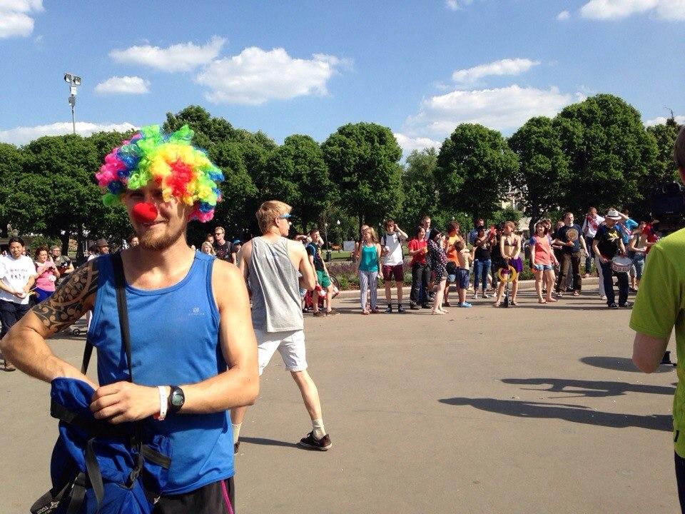 Жонглерский парад