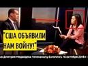 Медведев ОШАРАШИЛ журналистов Euronews Полная версия ОТКРОВЕННОГО интервью