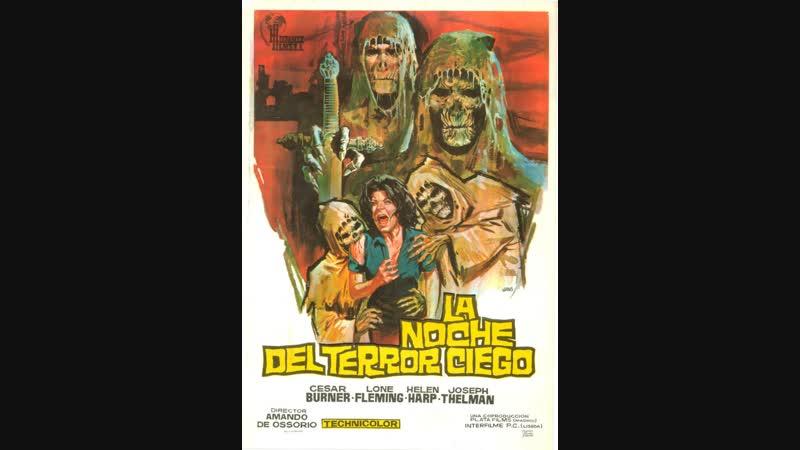 LA NOCHE DEL TERROR CIEGO (1971) Esp Cast