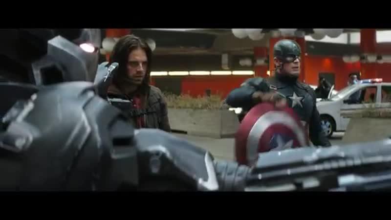 Bucky и Steve Останемся друзьями