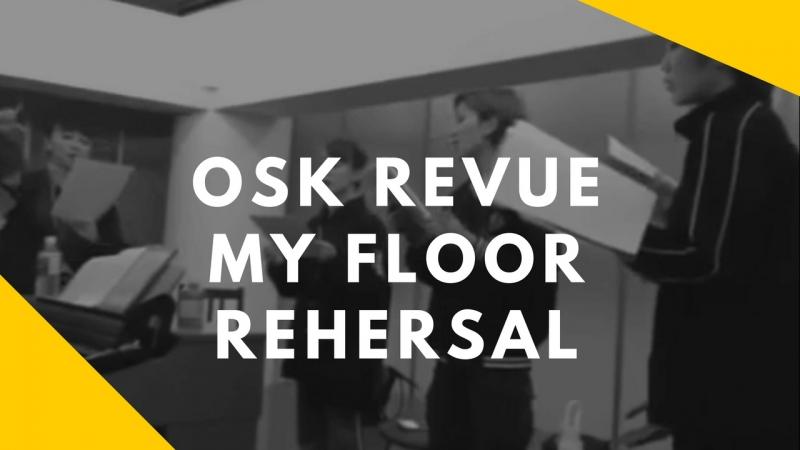 【OSK Revue】「MY FLOOR」Small part of rehersal