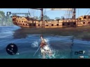 Assassin's Creed 4 Caribbean Gameplay (13 Minutes)