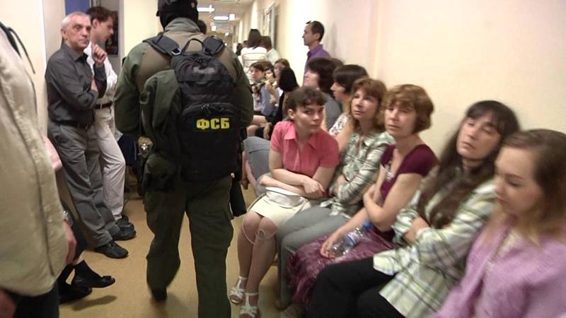 Обыски в офисе «Саентологическая церковь Санкт-Петербурга»