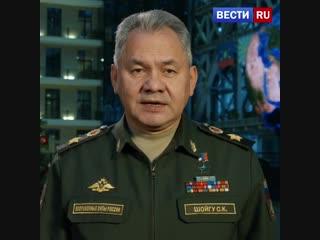 Министр обороны поздравил армию с Новым годом