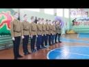 10 А класс. Смотр - конкурс строя и песни