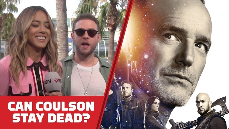 Can Coulson Stay Dead on Marvel's Agents of SHIELD Comic Con 2018