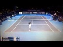 Dustin Dreddy Brown hits an amazing tweener lob at ATP Bergamo Challenger.