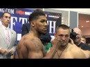 ANTHONY JOSHUA v DENIS BAKHTOV - OFFICIAL WEIGH IN / MOMENT OF TRUTH