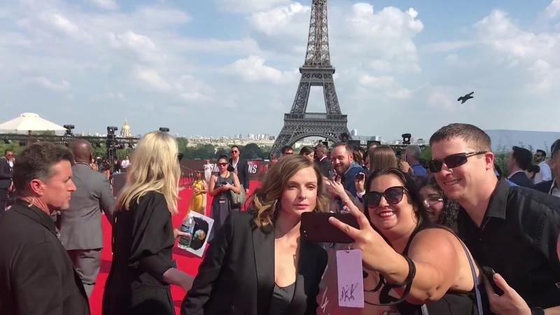 Avant première mondiale «Mission impossible Fallout» avec Tom Cruise Henry Cavill @Paris 12/07/18