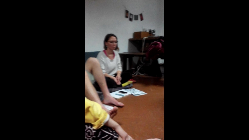 English lesson in library hostel