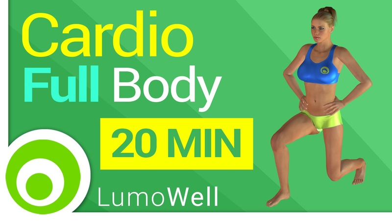 Full body workout: 20 minute cardio to lose weight at home