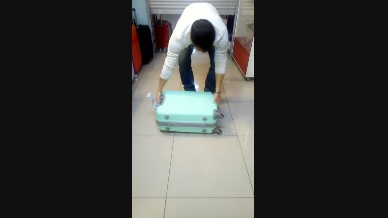 Продолжение проверки чемодана из АБС пластика!?