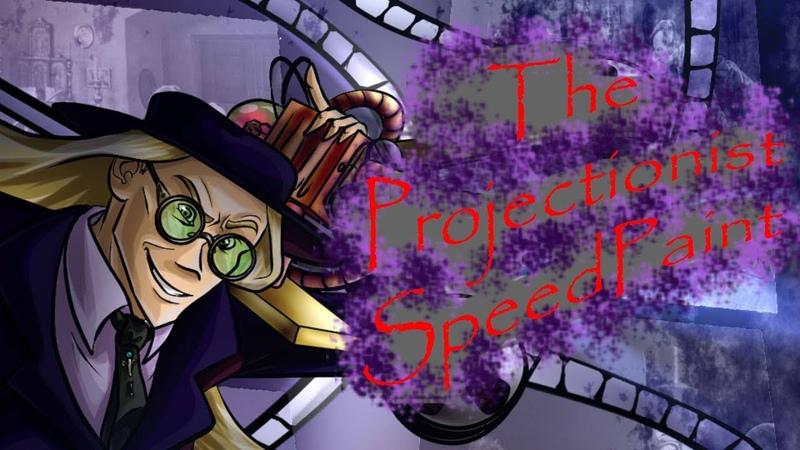 The projectionist SpeedPaint