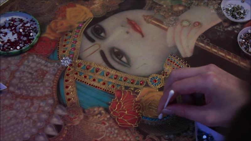 Krishna Art by Valerie_point