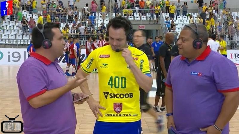 Daniel Pereira faz texto em homenagem ao camisa 12 Não narrei Pelé, mas narrei Falcão