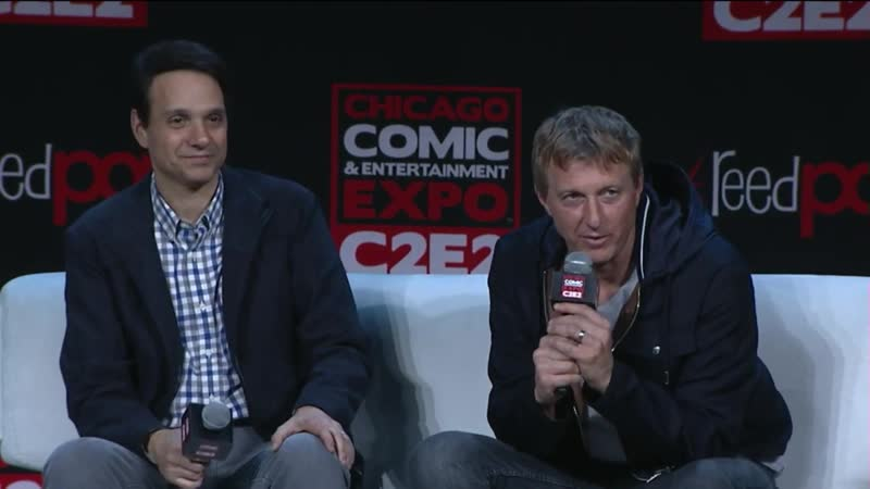 Кобра-Кай 2 Сезон / Cobra Kai Season Two Face Off ¦ C2E2 2019 ¦ SYFY WIRE