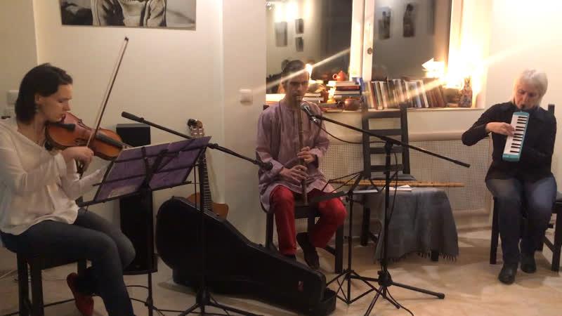 Импровизация перед началом концерта БГ65