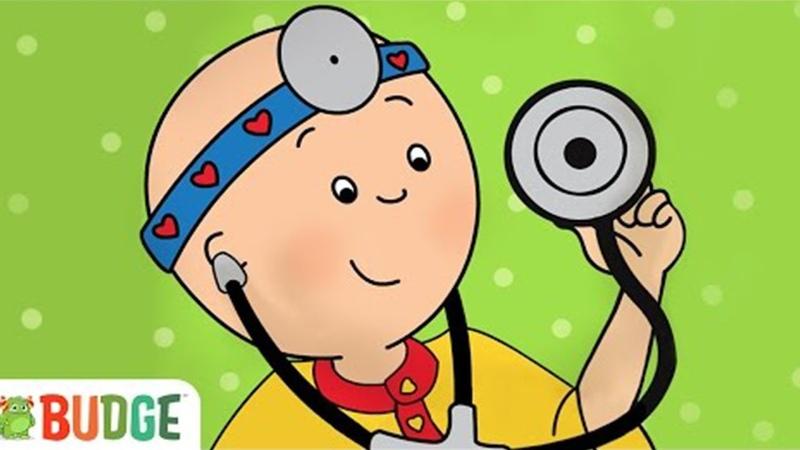 CAILLOU CHEZ LE DOCTEUR VISITE MÉDICALE APP Jeux educatif pour enfants 1