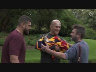 Участники главного боя UFC в Австралии