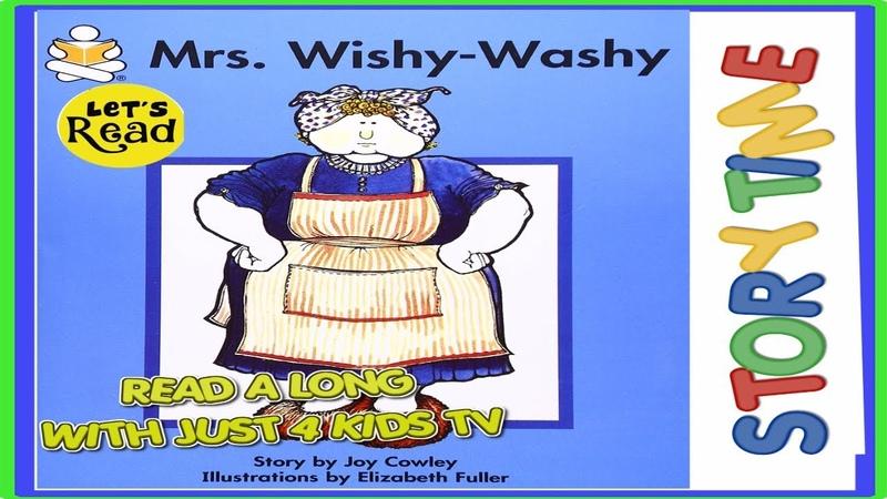 Mrs Wishy Washy Books for kids read aloud!